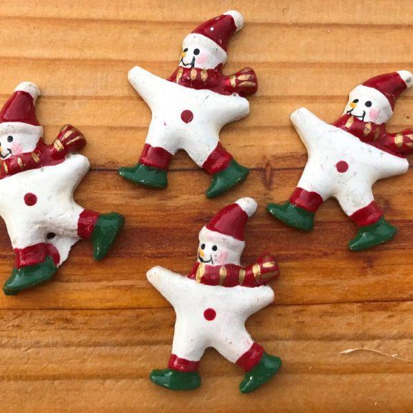 muñeco de nieve decoración